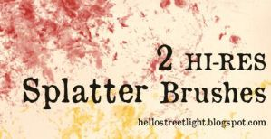 Free Brush Set 14: Splatter by tau-kast