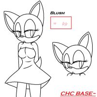 Female Sonic Character Base by CrystalHedgieCat