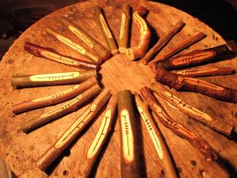 Ogham sets by Spirit Of Old by SpiritOfOld