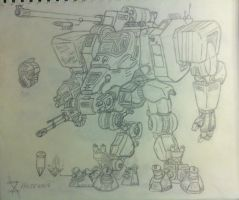 Big Mech 'Sketch' by LostHelix119