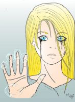 Deidara's Crying by AlyTheKitten
