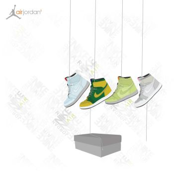 Nike Air Jordan 1 -Version 2- by BasdeBoer