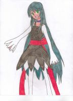 My ToS OC-Terresia (2nd Drawing) by Pana-sule