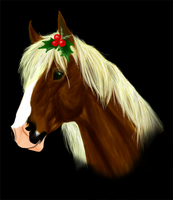 Holly Horse by CelticMaiden88