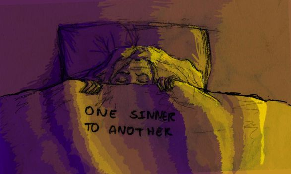 One Sinner To Another by ragnarok-and-roll