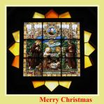 Merry Christmas by painting-with-light