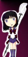 Chibi Sailor Saturn by IceDragonCosplay