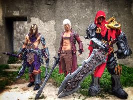 Darksiders War And Death With Dante by Leon chiro by MEG-Cosplay