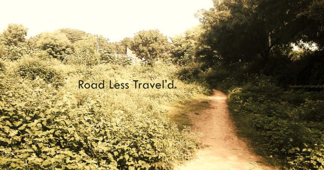 Road Less Travelled by S-Garg
