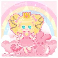 Kawaii Cheshirepanda arttrade by miemie-chan3