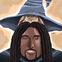 Double Toasted: Tommy McGrew as a Wizard by ArcielSkye