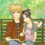 NaruTen - A Day in the Park by JuPMod