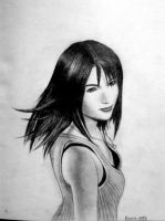 Rinoa Turning by LidART