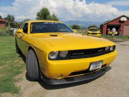 I See Yellow Mopars by KateKannibal