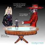 Hellsing and Puppet Master by wolfgirl1826
