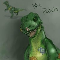 BK: Mr. Patch by Pink-Shimmer