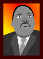 Dr. Martin Luther King Jr. by JAG1-XG072