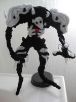 Pipe cleaner sachiel 10 inches tall by DarkSaberCat
