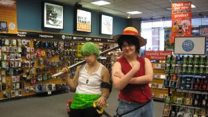anime (cosplay) day at the mall pic: two by rinxbon666