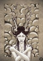 Deer Girl 2 by nAioM