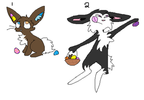 Easter Adopts for my Watchers by TurkFish