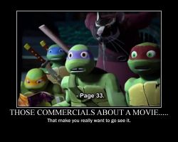 Movie Commercials... by alittlegeekish
