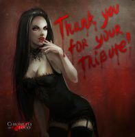 Vampire girl by NataliaSoleil