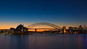 Sydney Opera House and Harbour Bridge - 01 by shiroang