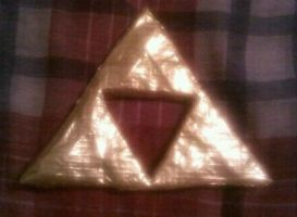 Golden Triforce by DuctileCreations