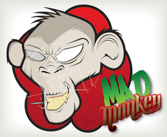 Mad monkey by qvn