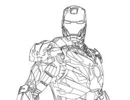 IronMan WIP by LegendarySuperman