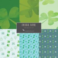 St Patrick's Day Paper Patterns by SunnyFunLane