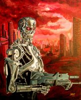 Terminator T800 by JosefVonDoom