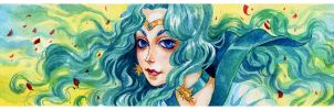 Sailor-Neptune by XViolacea