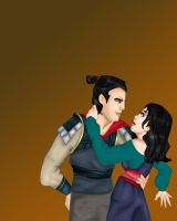 Disney Lovers: Mulan and Shang by Mize-meow