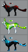 Skullmask adoptables -CLOSED- by Igneous-Dragon