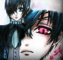 Ciel Phantomhive by PufferfishCat