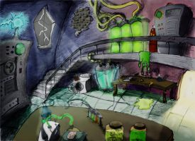 Mad Scientist Laboratory by Drpenguin57