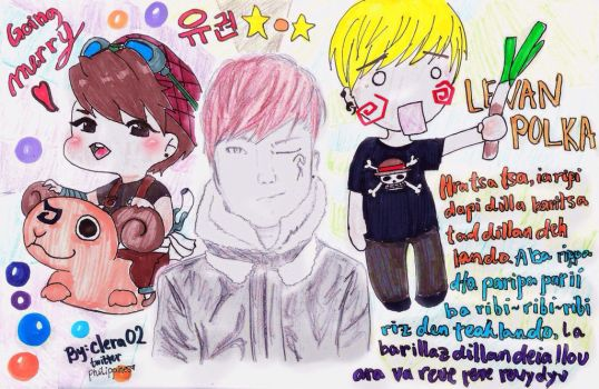 Block B - Ukwon FanArt by clera02