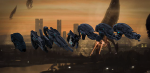 Geth Weapons from Mass Effect 3 for XNALara by Melllin