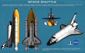 Space Shuttle ortho by unusualsuspex