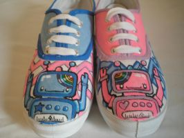 Robot Shoes by MissGriss