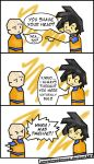 DBZ: Naturally Bald Comic by OneWingedMuse