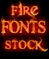 Fire Fonts Stock HD [SS] by SamusArsenal