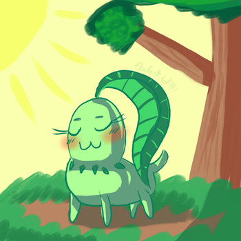 Chikorita by floofest