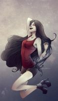 Marceline the Vampire Queen by Adenie