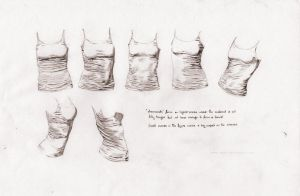 Shirt creases study by Tabon