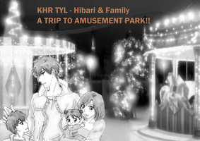 KHR TYL Hibari Family Outing by kreuz4eva