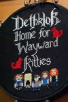 Dethklok Home for Wayward Kitties by taeliac