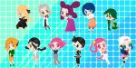 Sinnoh Poke Gals by SelenaEde